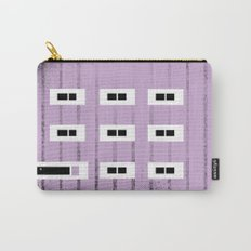 Purple Row House Carry-All Pouch