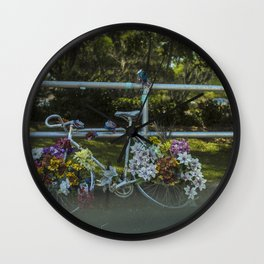 """Remember Alice 02"" (2017) Wall Clock"