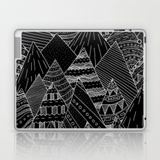 White line mounts Laptop & iPad Skin