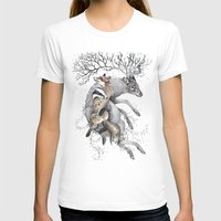 wildlife T-shirts featuring protect our wildlife  by KatePowellArt