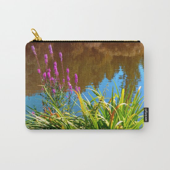 Flowers at the pond Carry-All Pouch