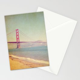 A Golden Day at the Beach Stationery Cards