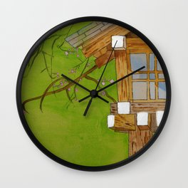 Meiji Jungu Japan Wall Clock