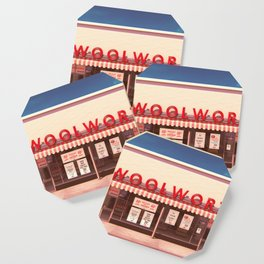 F.W. Woolworth Coaster