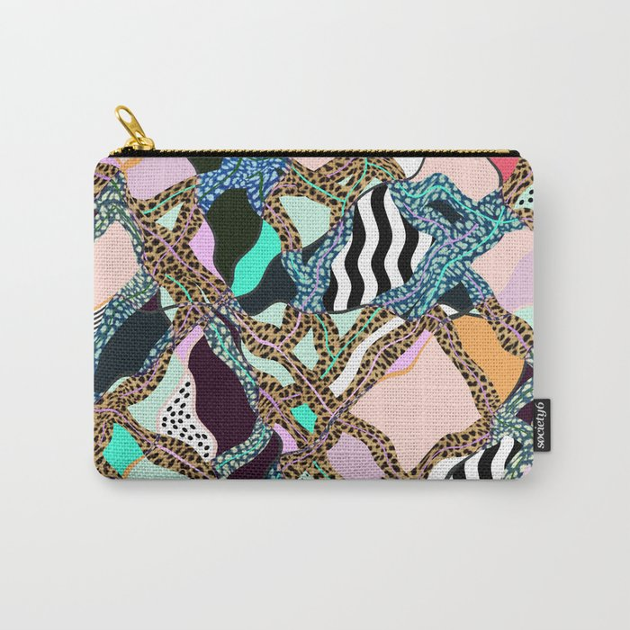 ELECTRIC VIBES Carry-All Pouch