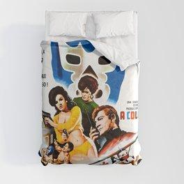 Blue Demon destructor de espias, 1968 (Vintage Movie Poster) Comforters