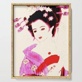 Geisha Serving Tray