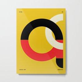 El Cairo — City Series Metal Print