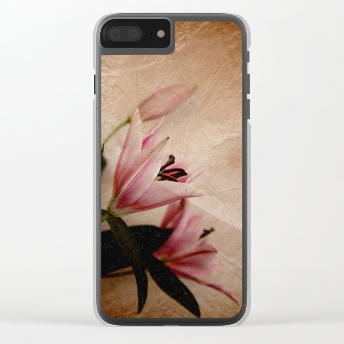 Flowers for a dream Clear iPhone Case
