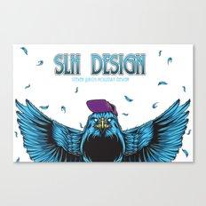 SLH Hawk  Canvas Print