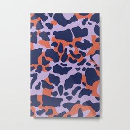 MODERN CAMOUFLAGE PATTERN Metal Print