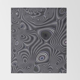 Hooched Out Throw Blanket
