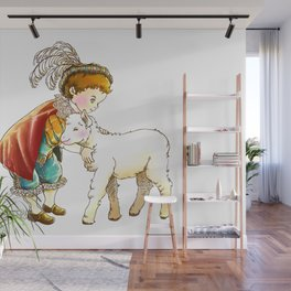 Prince Richard and his new Friend Wall Mural