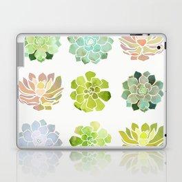Spring Succulents Laptop & iPad Skin