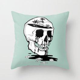 Dreams die Throw Pillow
