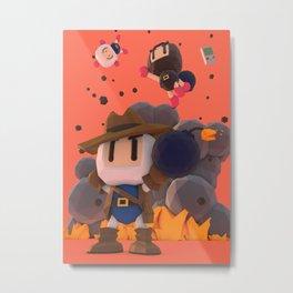Bomberman GB Metal Print