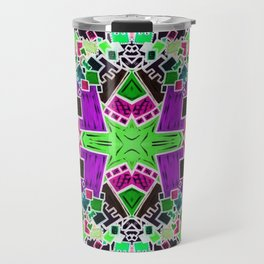 Tate - Created by a Genius (Square/Sym/Gre/Inv) Travel Mug