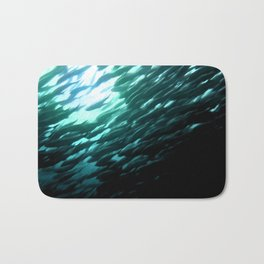 Thousands of jack fish Bath Mat