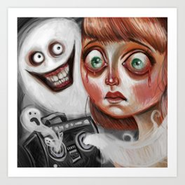 """Scary Songs"" by Kristin Frenzel Art Print"