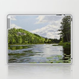 Secret Adirondack Pond Laptop & iPad Skin