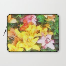 Lilies Love and Light Laptop Sleeve