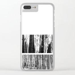Atticus Finch 2 Clear iPhone Case