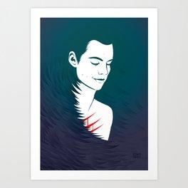 Teen Wolf Stiles Stilinski Art Print