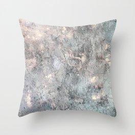 Metal Rain Throw Pillow