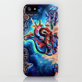 """""""Trying To Trust You"""" Painting iPhone Case"""