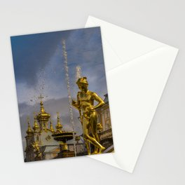 Peterhof palace Stationery Cards