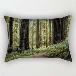 Look to the west. Rectangular Pillow