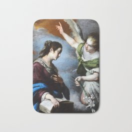 Bernardo Strozzi The Annunciation Bath Mat