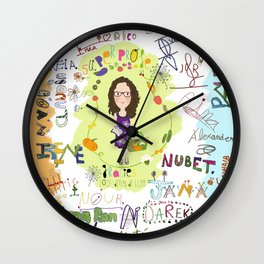 classe dents de lleó Wall Clock