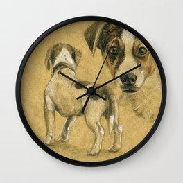 Jack Russel terrier SK080 Wall Clock