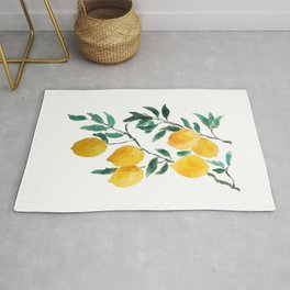 yellow lemon 2018 Rug