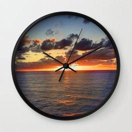 Sunrise at Nouméa Wall Clock