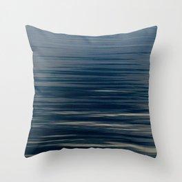 Beautiful Calm Coastal Waters Throw Pillow