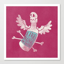 Angel Poison Canvas Print