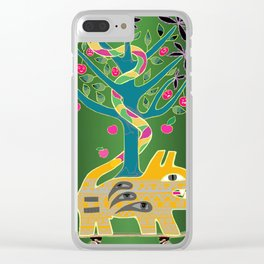 Apple of discord. Clear iPhone Case