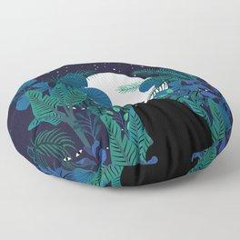 mystical cat Floor Pillow