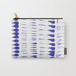 Shibori strokes Carry-All Pouch