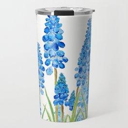 blue grape  hyacinth forest Travel Mug