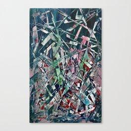 Razor Blades Waterfall Canvas Print
