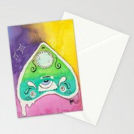 planchette ouija drippy Stationery Cards