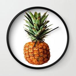 Pineapple Vector Wall Clock