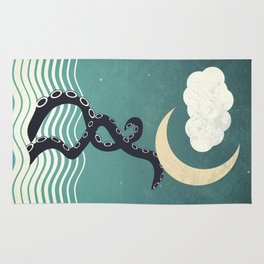 The octopus and the sea II (a lullaby) Rug