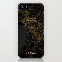 Kazan, Russia - Gold iPhone Case