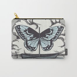 Butterfly Boat - We Are Not Troubled Guests Carry-All Pouch