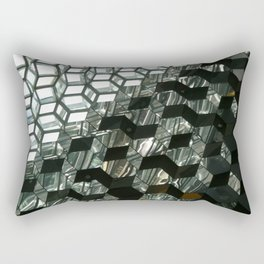 Harpa,  concert hall and conference centre Rectangular Pillow