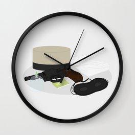 2009: Hotel Man Wall Clock